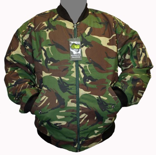 Dallaswear - Blouson -  Femme Multicolore Camouflage urbain grand Vert - Camouflage