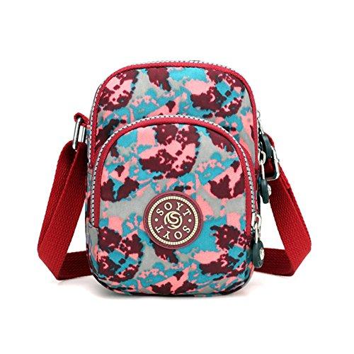 Bbdsj Lady bag Einzigen umhängetasche [fashion printing] Handy-tasche Kleine umhängetasche Messenger bag Mehrere farben -A -