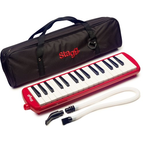 stagg-melosta32rd-32-note-melodica-with-case-red