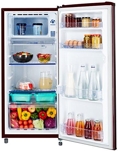 Whirlpool 190 L 3 Star Direct-Cool Single-Door Refrigerator (205 GENIUS CLS 3S Wine Alpha-E,Wine Alpha)