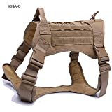 jingjing Police K9 Tactical Training Hundegeschirr Military Verstellbar Molle Nylon Weste