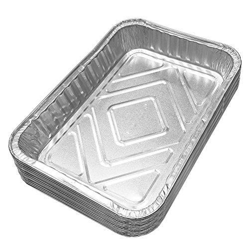 bestomz gutes Saatschalen Aluminium Schalen aus Aluminium Einweg (30PCS)