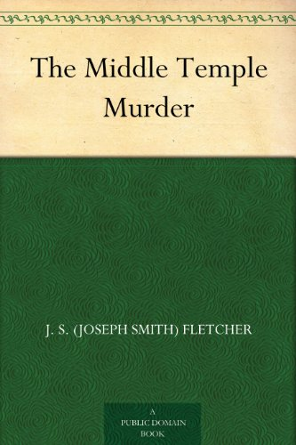 The Middle Temple Murder (English Edition)