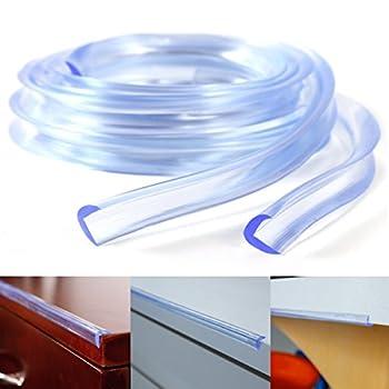 Kantenschutz Eckenschutz, 2 M Länge Tischkante Kissen Beschützer, Baby Schutz Aus Weichem Schaumstoff (Nbr) Selbstklebend L-form 8
