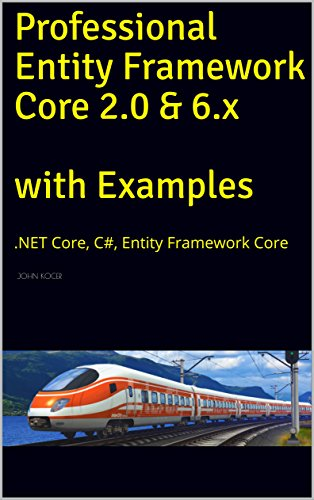 Professional Entity Framework Core 2.0 & 6.x with Examples: .NET Core, C#, Entity Framework Core