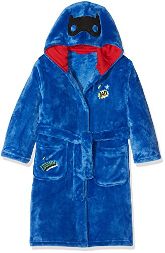 Mothercare Baby-Jungen Bademantel Superhero Cape Blau, M (Superhero Kinder Capes)