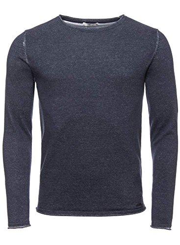 LTB Jeans -  Maglione  - Uomo Blau (dark indigo mel) S