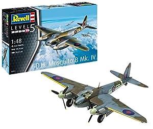 Revell- Mosquito B MK. IV Maqueta Avión, Multicolor, 1:48 Scale (03923)