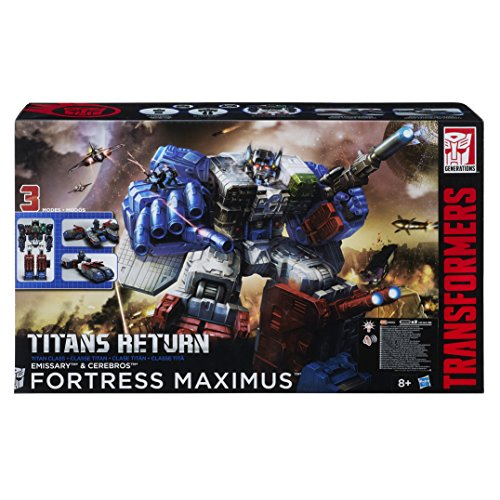 Transformers Figurine Class Titan Fortress Maximus Generations (Hasbro b6118e48)