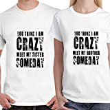 #7: Powerpuff - Meet My Brother Sister Unisex Couple T-Shirts