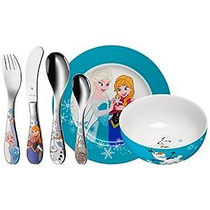 WMF 1286009964 Disney Frozen Kindergeschirr-Set, 6-teilig