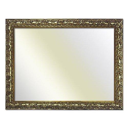 Barockrahmen 333 ARG, silber, 60 x 90 cm, Spiegel