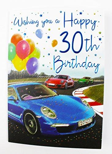 Happy 30. Geburtstag Grußkarte für Ihn Herren Alter Qualität Vers Stecker Milestone (30. Geburtstag Party-ideen Für Ihn)