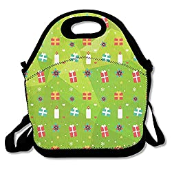 Pinypony Christmas Pattern-01 Lunch Bag Lunch Tote