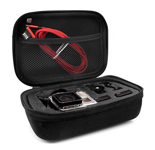 MyGadget Tragetasche [Größe S] Transport Schutz Tasche für Actionkamera & Zubehör - Portable Koffer Case für z.B. GoPro Hero 7 6 5 4 3+ 3 / Xiaomi Yi 4K - Großes Tragetasche Gopro