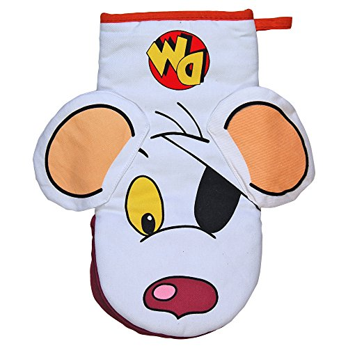 Danger Mouse Oven Glove. Cool Funky Novelty Kitchen and Cooking Mitt