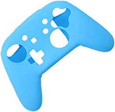 Asia Deals Shockproof Game Pad Gel Silicone Protective Case Cover Skin for Nintendo Switch Pro Joystick Blue