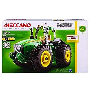 MECCANO 8R Series Tractor - Juegos de construcción (Juego de construcción de Varios Modelos de vehículos, 10 año(s), 240 Pieza(s), Negro, Verde, China, 323,8 mm)