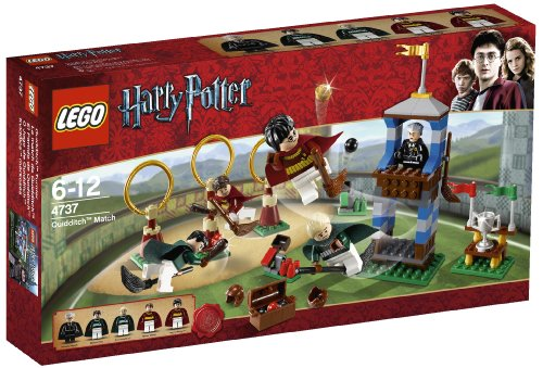 LEGO - 4737 - Jeu de Construction - Harry Potter - Le Match de Quidditch
