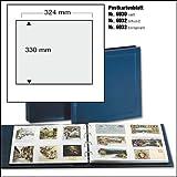 5er PACK SAFE 6030 ERGÄNZUNGSBLÄTTER HÜLLEN FÜR SAFE 1250 BOGENALBUM RINGBINDER FÜR BOGEN GRÖSSE 335 x 330 mm ---- IDEAL FÜR BRIEFMARKENBOGEN - BLOCKS - AKTIEN - HISTORISCHE WERTPAPIERE - DOKUMENTE
