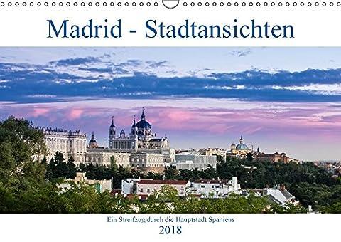 Madrid - Stadtansichten (Wandkalender 2018 DIN A3 quer): Eine fotografische Entdeckungsreise durch Madrid (Monatskalender, 14 Seiten ) (CALVENDO Orte) [Kalender] [Apr 13, 2017] Krebs, Thomas