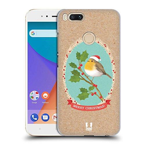 Head Case Designs Rotkelchen Weihnachtsklassiker 2 Ruckseite Hülle für Xiaomi Mi A1 / Mi 5X