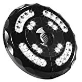 [Promotion]Patio Umbrella Light 28LED Parasol Mate Waterproof Light Wireless with 2 Level Modes and USB Rechargeable