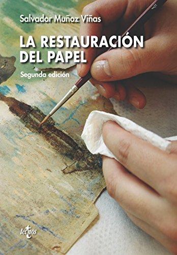 La restauración del papel (Ventana Abierta) por Salvador Muñoz Viñas
