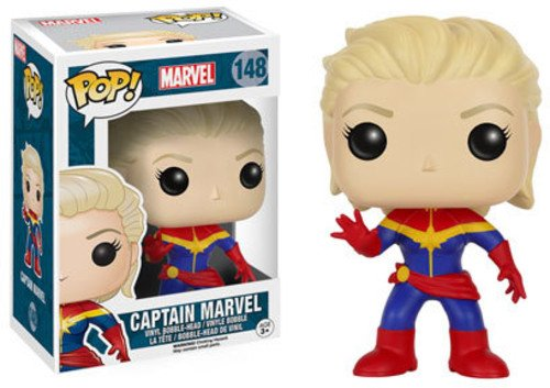 FunKo POP Bobble Marvel Captain Marvel Unmasked