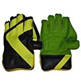 #5: GNS Full Shaver Leather Wicket-Keeping Gloves Size Men