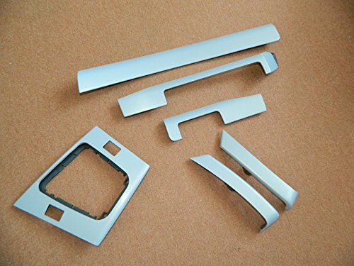 Dekorleisten Interieurleisten BMW E46 Compact Alu gebürstet 3D Struktur Folien Set