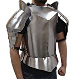 NauticalMart ITDC Recreation Medieval Armour - Breastplate, Shoulders, and Upper Arm Protection - Wearable Costume Armor
