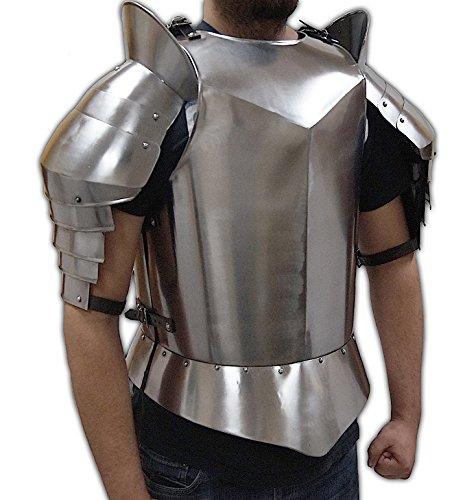 (NAUTICALMART ZOT Erholung Mittelalter Armour–Geschirr, Schultern, und Oberarm Schutz–Tragbar Kostüm Armor)