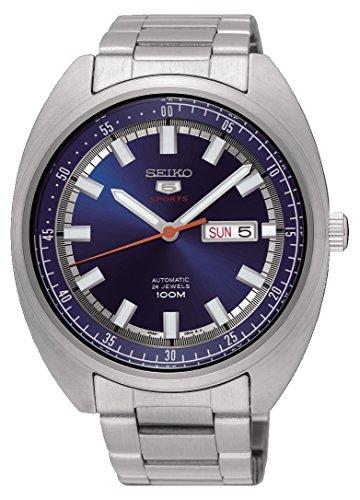 Seiko Reloj Analogico para Hombre de Mecánico con Correa en Acero Inoxidable SRPB15K1