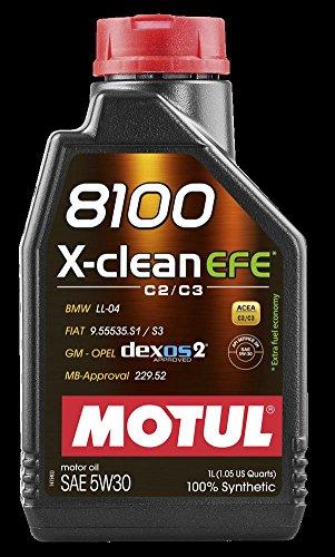 Preisvergleich Produktbild Motul 8100 X-clean EFE 5W30 - 1 Liter Flasche