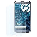 Bruni Schutzfolie für Samsung Galaxy Note 2 GT-N7100 Folie, glasklare Displayschutzfolie (2X)