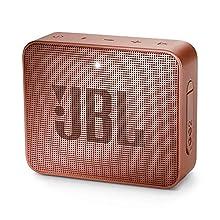 JBL GO 2 Speaker Bluetooth Portatile, Cassa Altoparlante Bluetooth Waterproof IPX7, Con Microfono, Funzione di Noise Cancelling, Fino a 5h di Autonomia, Rosa Cannella