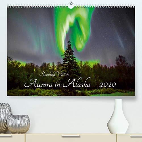 Aurora in Alaska(Premium, hochwertiger DIN A2 Wandkalender 2020, Kunstdruck in Hochglanz): Polarlichtaufnahmen aus Alaska (Monatskalender, 14 Seiten ) (CALVENDO Natur)