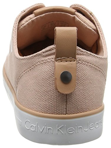 Calvin Klein Jeans Damen Dora Canvas Sneakers Pink (Dsk)