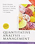Quantitative Analysis For Management, 12Th Edn by Render, Badri, Pearson India, 9789332568853