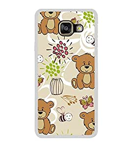 Cute Bear Wallpaper 2D Hard Polycarbonate Designer Back Case Cover for Samsung Galaxy A7 (2016) :: Samsung Galaxy A7 2016 Duos :: Samsung Galaxy A7 2016 A710F A710M A710FD A7100 A710Y :: Samsung Galaxy A7 A710 2016 Edition