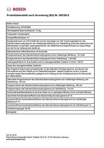 Bosch WTH83000 Wärmepumpentrockner - 3
