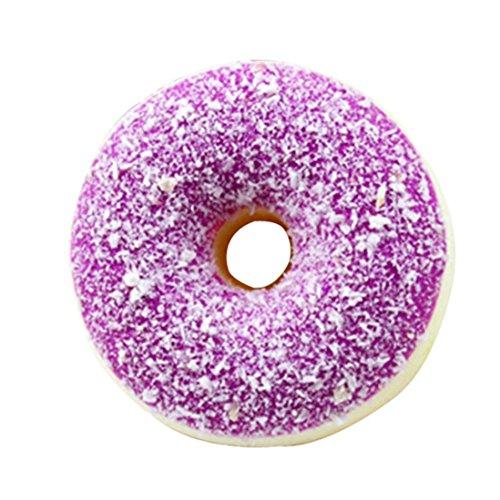 Preisvergleich Produktbild Spielzeug, ADESHOP Squishy Squeeze Stress Reliever Weiche bunte Donut Duftend Slow Rising Spielzeug
