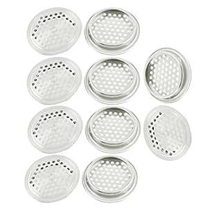10pcs 53mm x 8mm cuisine Home Office air rond Trou Grille de ventilation