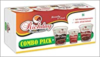 Richday Instant Combo Pack of 12 Cuppa Soups (4 Cuppa of Each Flavour 15GM)