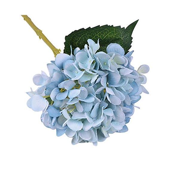 CTGVH Ramo de Flores Artificiales, simulación de Seda, Ramo de Hortensia, Gran Cabeza, decoración para Boda, habitación…