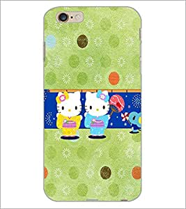 PrintDhaba Donnats D-4878 Back Case Cover for APPLE IPHONE 6S (Multi-Coloured)