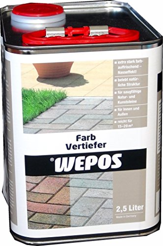 Wepos 2000202774 Farbvertiefer 2,5 L