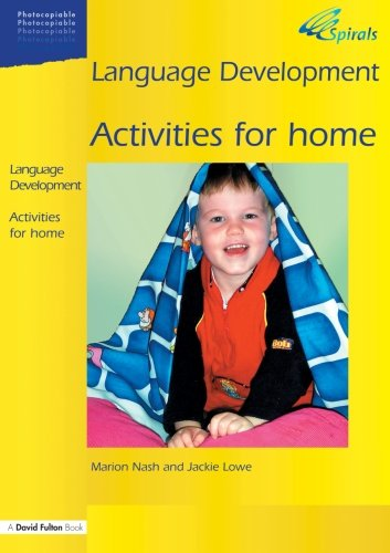 Language Development Activities for Home: Volume 1 (Spirals)