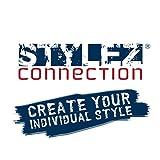 Stylez-Connection Lederarmband schwarz EXTRA BREIT Herren Leder Armband - 6
